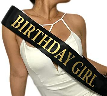 HAPPY BIRTHDAY SASH – My Party Universe