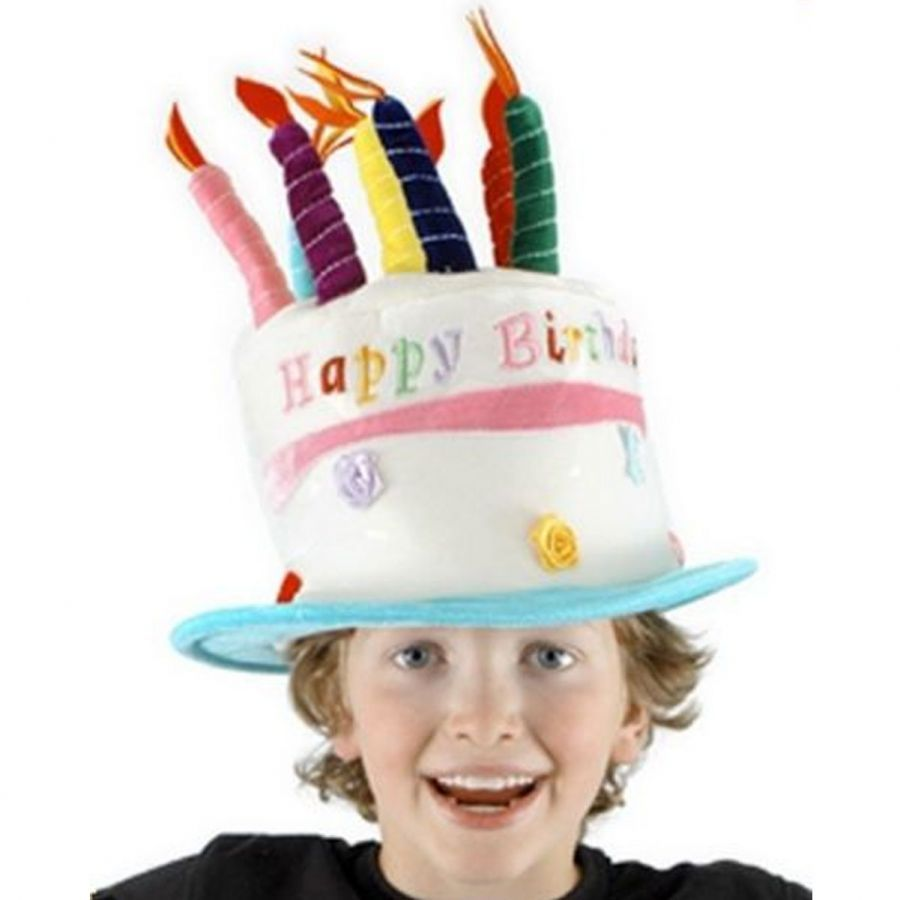Outstanding Birthday Cake Hat My Party Universe Funny Birthday Cards Online Aboleapandamsfinfo